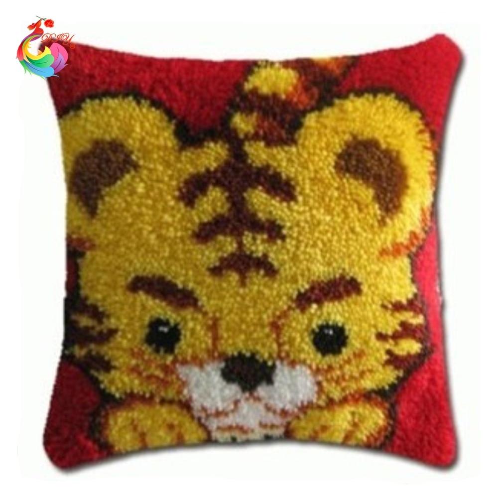 Aliexpress.com : Buy HOT Latch Hook Pillow Kits Yellow
