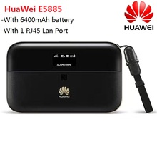 unlocked huawei e5786 e5786s 62a 4g lte advanced cat6 300mbps pocket plus 2pcs antenna Unlocked HUAWEI 6400mah Battery Power Bank Router E5885 E5885Ls-93a 4G wireless Cat6 300Mbps mobile Hotspot pocket mini 4G modem