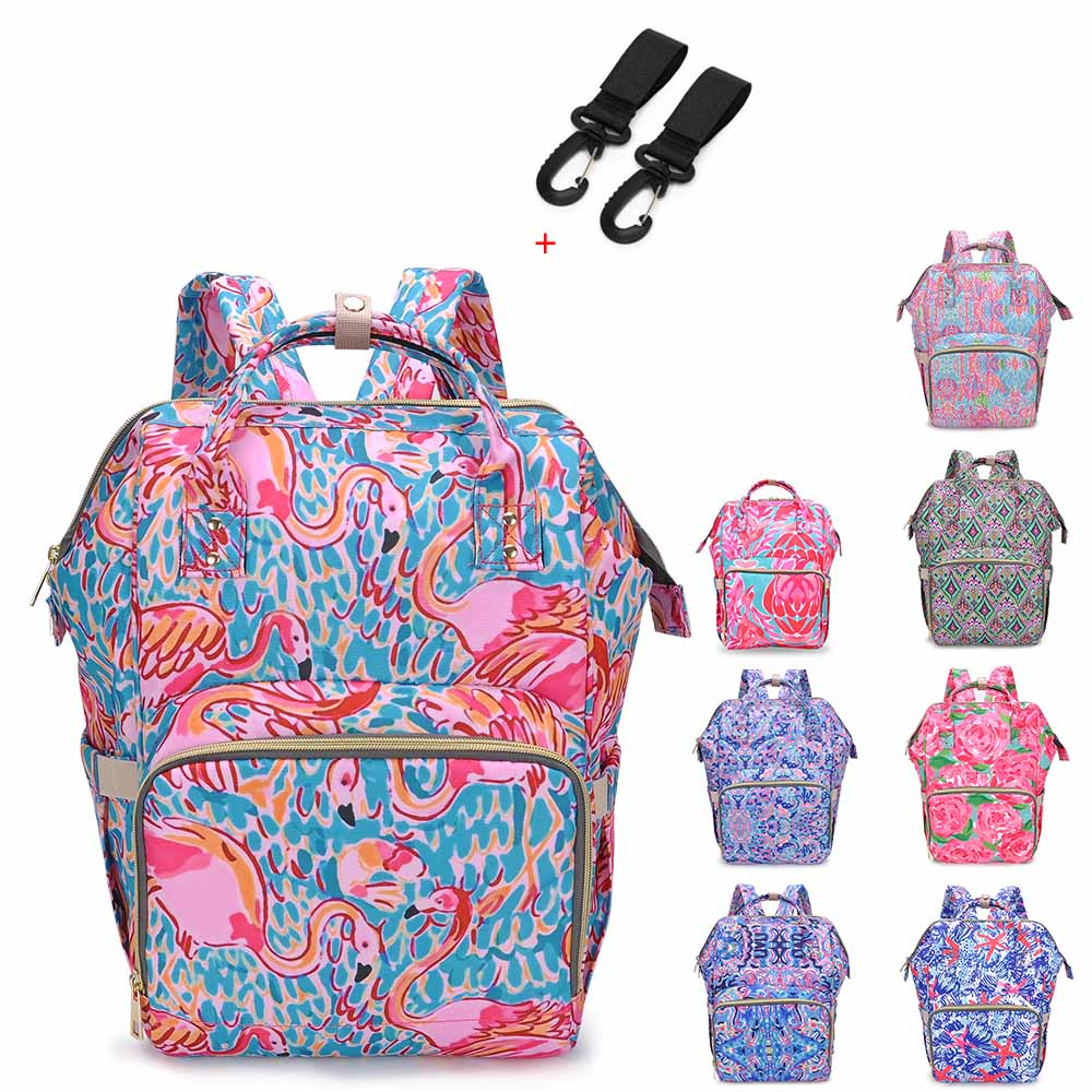 Brand New Designer Mummy Maternity Nappy Bag Large Capacity Baby Diaper Bag Travel Backpack Nursing Bag For Infant Care