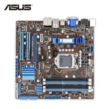 Asus P7H55D-M PRO Original Gebrauchte Desktop-Motherboard H55 Sockel LGA 1156 i3 i5 i7 DDR3 16G uatx getestet Auf Verkauf