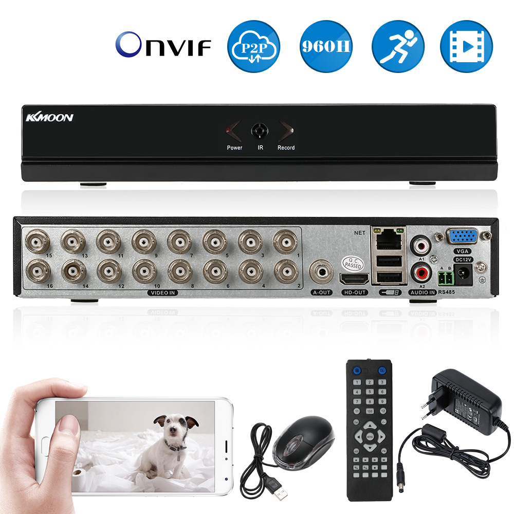 KKmoon 16CH DVR 960H D1 CCTV DVR Recorder H 264 Real Time Standalone Network Digital Video