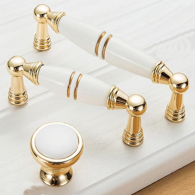 Meubles Or Bouton Cabinet Boutons Et Poignées Simple Cuisine Poignées  Poignées De Tiroir Or Porte Poignées