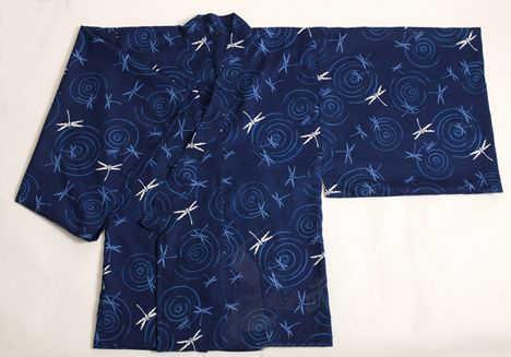 ユニセックス100%フル綿伝統日本サムライスーツ剣道スーツコート青白トンボジャケット居合道合気道制服