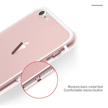 Ultra Thin Slim Transparent Soft TPU Phone Case For iPhone FD01