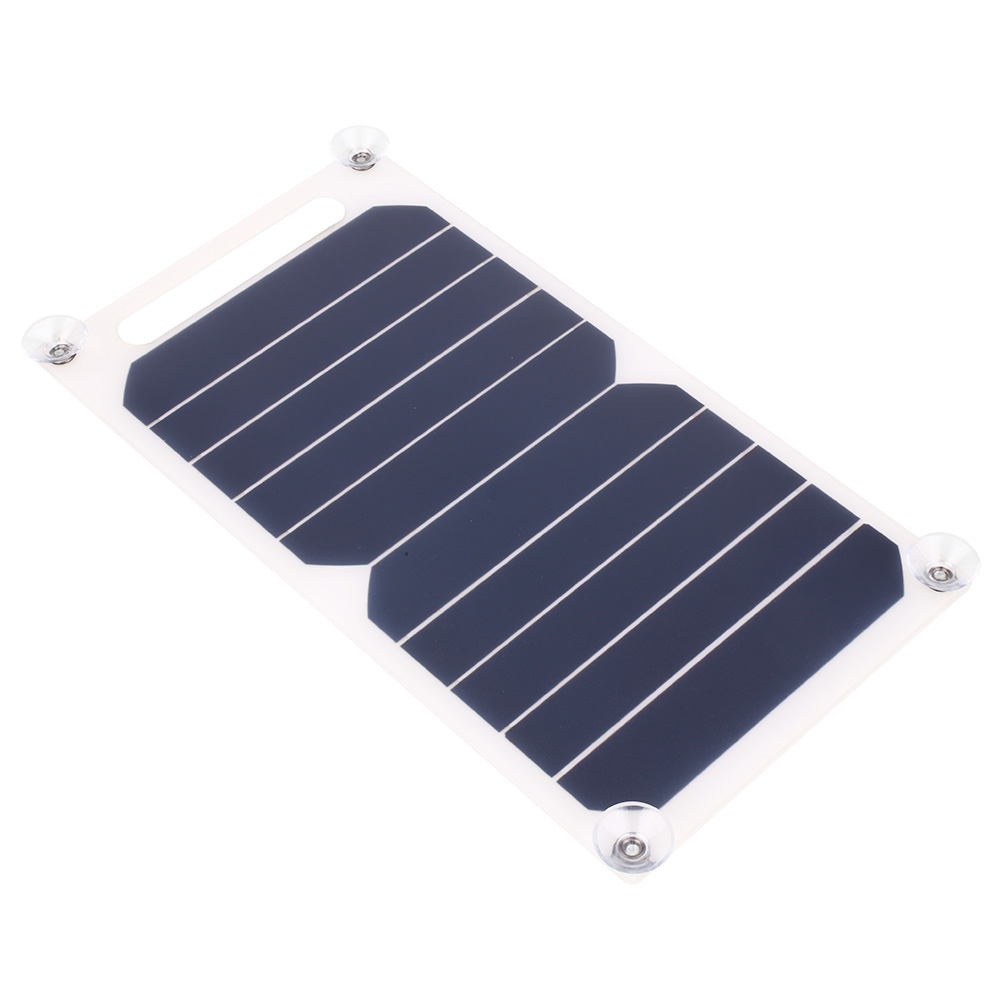 5V 5W Solar Panel Bank Solar Power Charging Panel Charger USB For Mobile Smart Phone Samsung