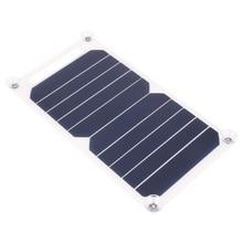 5 В 5 Вт Панели Солнечных Батарей Банк Солнечной Энергии Зарядки Зарядное Устройство Панели USB Для Мобильного Смартфона Samsung