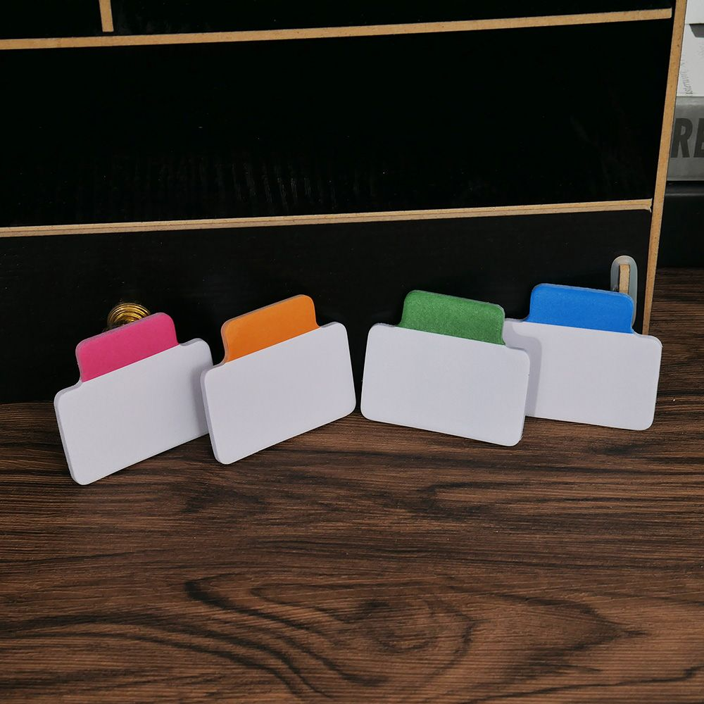 Limit Shows 25 Sheets With 4 Colors Write-On Removable Index Tab Sticker Book In Notebook Notepad Stationery School Office  Hot