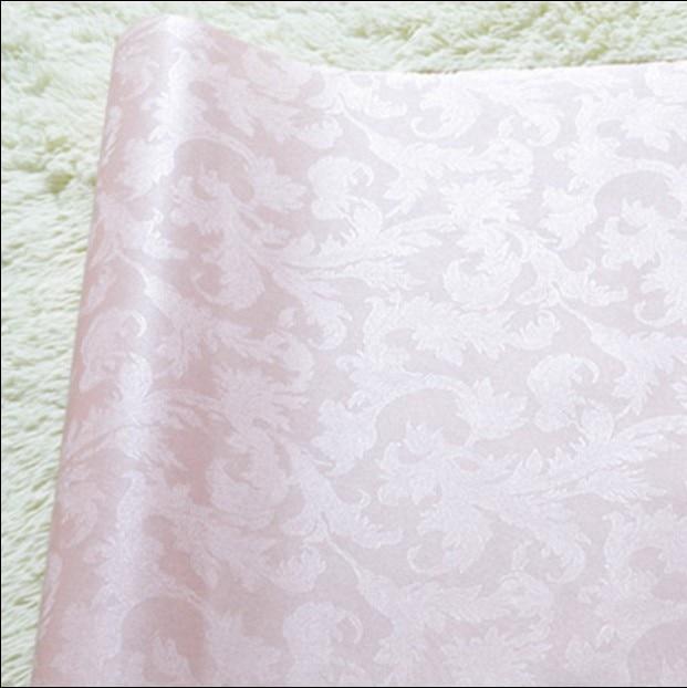 ФОТО new selling 2016 European pure color dark flower wallpaper Vertical stripes stereo embossed Sweet bedroom TV setting wall paper