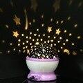 Decoração romântica Sono Estrela Luz Do Céu Projetor Lâmpada Luminosa para Crianças Decoração do Quarto Presente de Aniversário Cor Aleatória