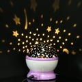 Romantic Decoration Sleep Light Star Sky Projector Luminous Lamp for Kids Birthday Gift Bedroom Decoration Random Color