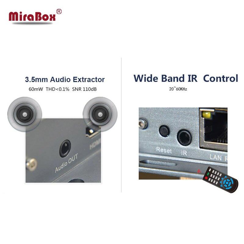 MiraBox Matrix rj45 HDMI Extender Over IP/TCP/UTP Ethernet Cable Cat5 Cat6 Support 1080p Full HD 100m 120m 400ft 4*4 Matrix HD