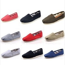 Hot selling!!!free shipping!men's / lady canvas shoes can mix color top quality