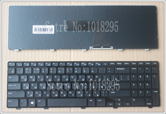 Russian For DELL insprion 15V 15R 15VR 1316 15R-3521 15R-5521 2521 3521 5421 M531R 3537 5528 3328 Black PK130SZ1A00 NSK-LA0SC01