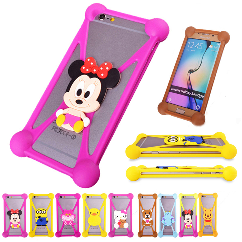 Cute Cartoon Hello Kitty Batman Minnie Minions Stitch Soft Silicon Case Cover For Vertex Impress Bear Blade City Click Nfc Cube Excellent Quality In