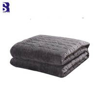 SunnyRain 1 Piece Velvet Blanket Cover of Weighted Blankets Thick Duvet Cover King Size Gravity Blankets Cover