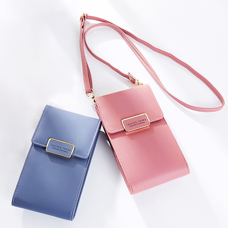 Luxury Women Phone Bag Message PU Leather Mini Shoulder Bags Girls With Coin Purses Crossbody Bag Card Holder Female Fashion Bag 2in1 pu leather shoulder bags female crossbody bags for women wallets and purses with card holder fashion ladies handbags