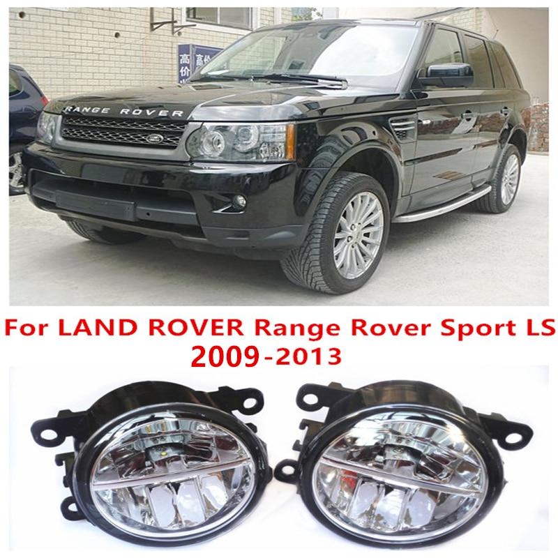 For LAND ROVER Range Rover Sport LS 2009-2013  10W Fog Light LED DRL Daytime Running Lights Car Styling lamps rastar 48500 range rover sport 2013 version