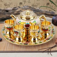 Russian tea boutique European metal flagon craft ornaments business gifts wedding package
