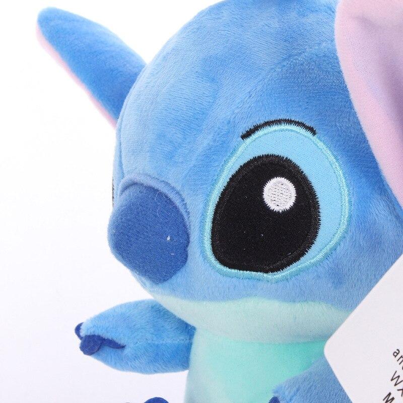 2pcs 18cm Alto quanlity Stitch Plush Toys para niños animales de - Peluches y felpa - foto 6