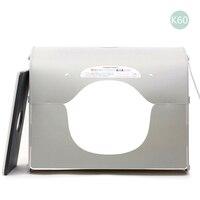 Softbox фотостудия Фотография light box Портативный мини фото box MK60 LED для 220/110 В ЕС, США, Великобритании AU