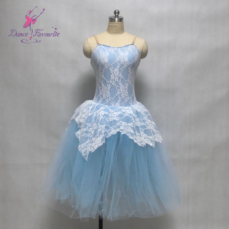 White stretch lace overylay spandex bodice child ballet tutu women & girl stage performance ballet costume ballerina dance tutu