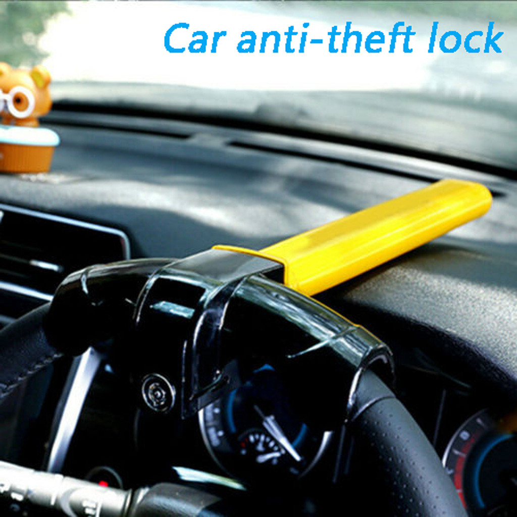 Verrouillage universel du volant rotatif de sécurité antivol pour voiture Ford transit peugeot ford fusion