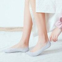 Новые 10 пар Женские носки для лоферов в форме лодочек незаметные нескользящие носки из хлопка с низкой посадкой VN 68