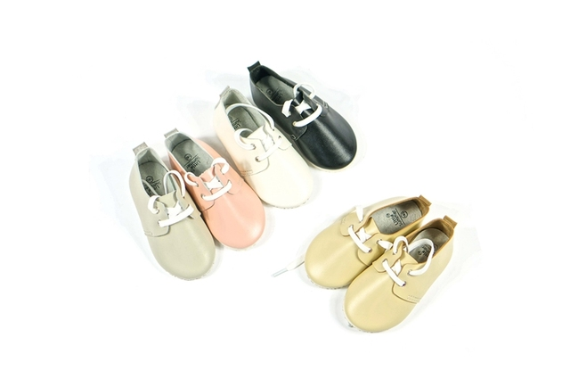 2016 British style Genuine Leather First Walkers Suede Baby shoes Toddler Baby moccasins Anti-slip bottom Infant Boys Shoes