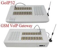 32 sim-карты канал GOIP32 межсетевое сопряжение voip gsm 32 чипа GOIP смена imei поддержка sim-банка-горячая продажа