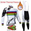 2019 sıcak X-CQREG kış termal polar bisiklet Jersey uzun kollu formalar bisiklet önlüğü pantolon seti bisiklet bisiklet bisiklet giyim