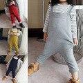 Primavera y verano del bebé niños y niñas de punto trajes infantil tejidos de algodón trajes sección neutra