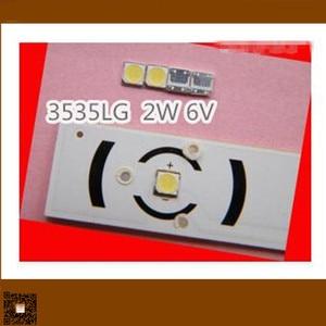 Image 5 - Smd led 대신 200 개/몫 tv/lcd 백라이트 용 lg 3535 6 v 냉 백색 2 w