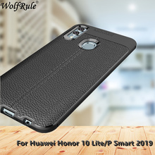 For Cover Huawei P Smart 2019 Case 6.21 Silicone Rugged Hybrid Phone PSmart