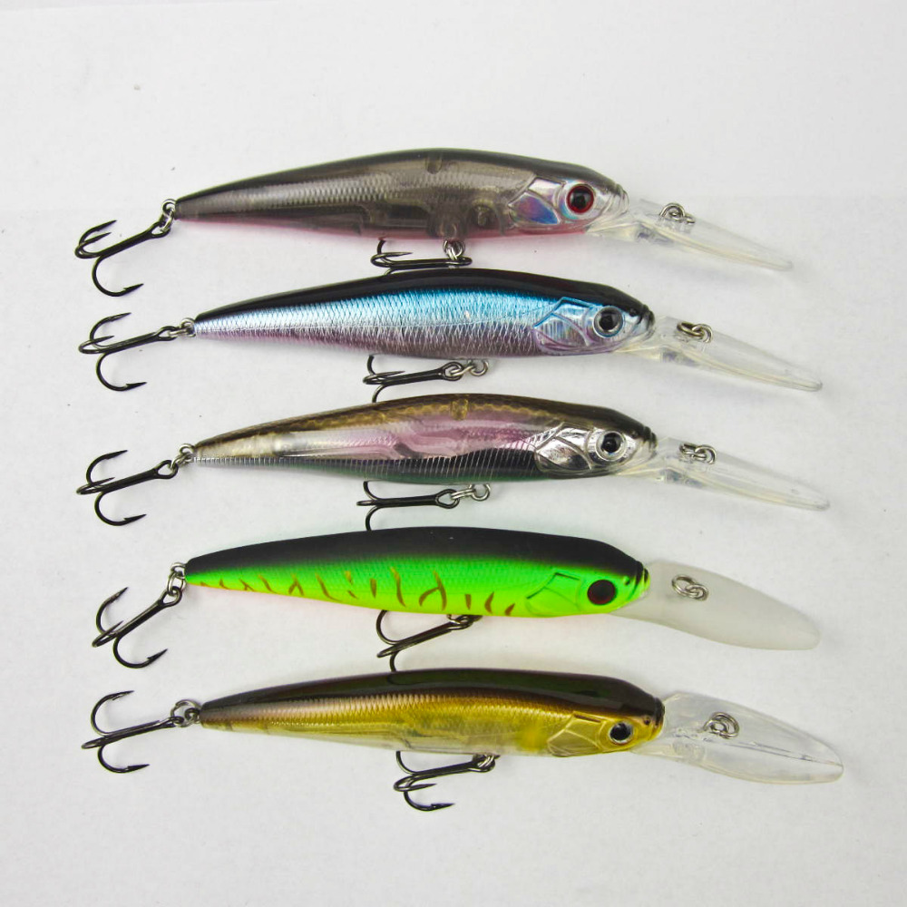 BassLegend - 1 piece Fishing Slow Sinking Crankbait Trolling Minnow Bass Pike Lure 90mm/13g 10pcs lot 15 5cm 15 3g wobbler fishing lure big minnow crankbait peche bass trolling artificial bait pike carp kosadaka