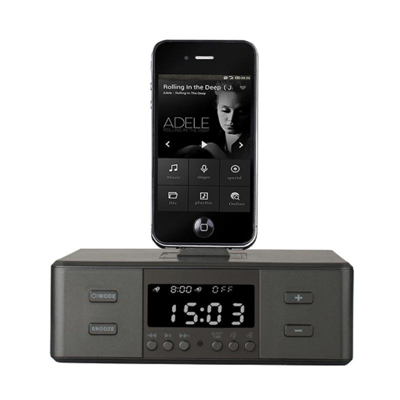EAAGD despertador Radio, Altavoz Bluetooth inalámbrico, reloj despertador Digital cargador USB para dormitorio con Radio FM/puerto de carga USB-in Relojes despertadores from Hogar y Mascotas    1
