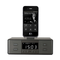 EAAGD Alarm Clock Radio,Wireless Bluetooth Speaker,Digital Alarm Clock USB Charger for Bedroom with FM Radio/USB Charging Port