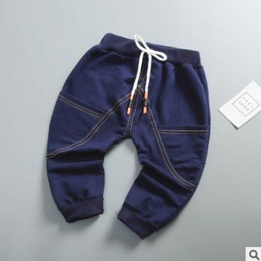 Baby Pants Trousers Jeans Toddler Girls Autumn Children And In Solid 0-24M The Boys