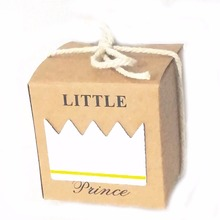 96Pcs Favor Box Wedding Favor Box New Birth Birthday Baby Shower Party Candy Boxes Bag New Boy and Girls Favor Gifts Packing