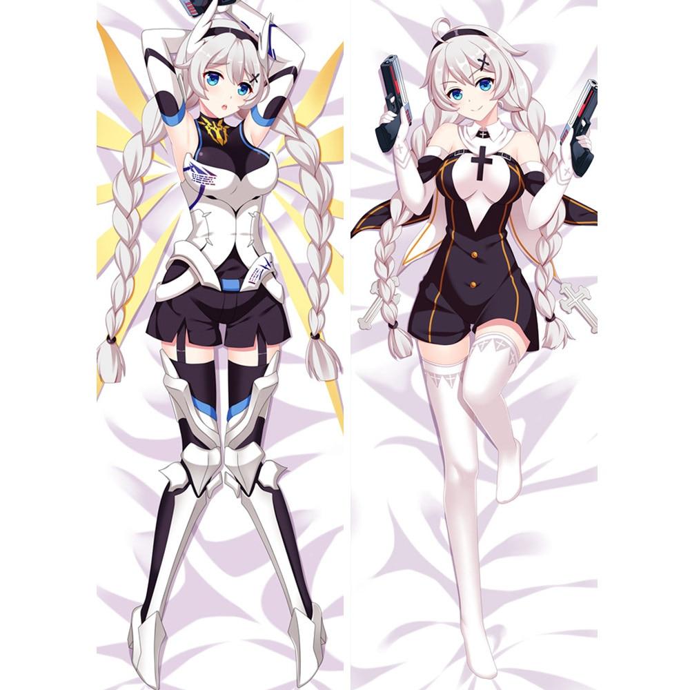 US $19 0 |Honkai Impact 3 anime pillowcase Kiana Kaslana Japanese 2 way  tricot Custom Dakimakura Body Pillow Case-in Pillow Case from Home & Garden  on