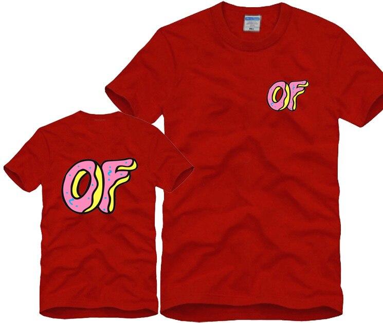 859e45ca739d 2015 new Odd Future donuts OFWGKTA GOLF WANG cat earl HIPHOP skateboard  sport fitness men women brand hiphop t shirt men HBA-in T-Shirts from Men s  Clothing ...