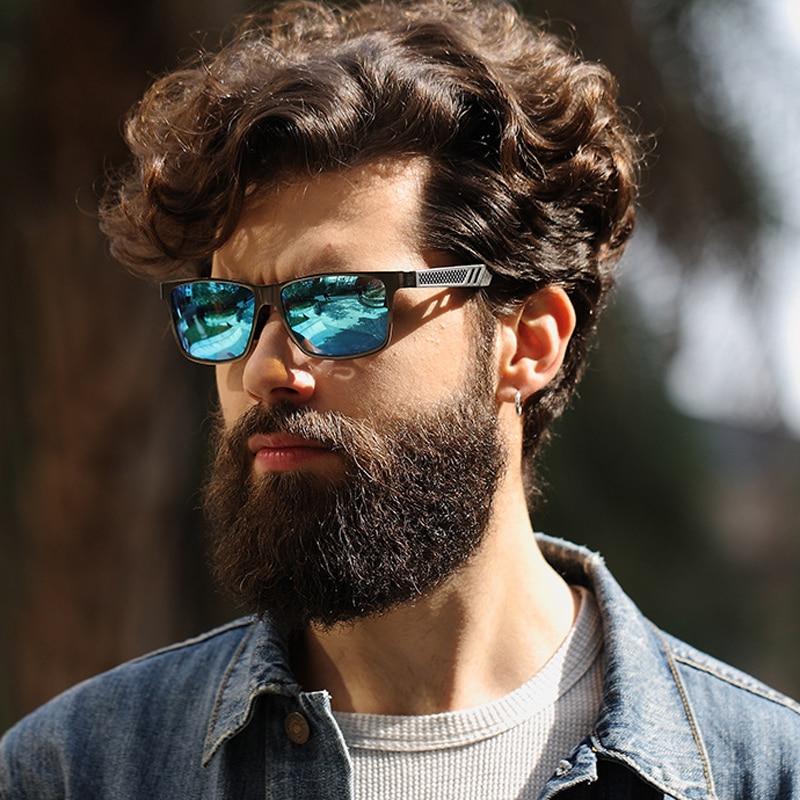Aluminium magnesium mäns solglasögon polariserad beläggningsspegel - Kläder tillbehör - Foto 6
