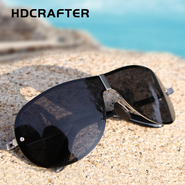 Fashion Polarized Driving Sunglasses for Men glasses Brand Designer with High Quality 4 Colors