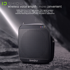 Image 5 - SHIDU S613 אלחוטי נייד קול מגבר UHF מיני אודיו רמקול USB Lautsprecher למורים Tourrist מדריך מורה ליוגה