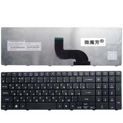 Ru для ACER 5810 T 5810TG AS5810T 5820TG 5552 г 5253 для Aspire 7751 г 8935 8935 г 8940 г 5410 5810 Клавиатура ноутбука Новый Русский черный