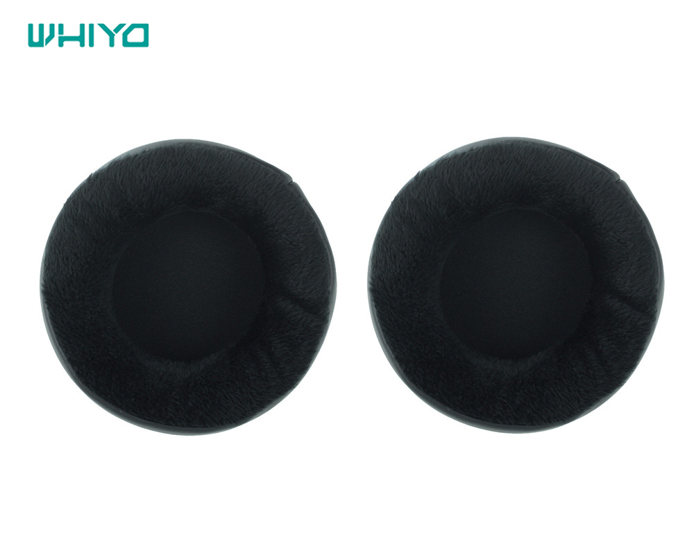 Whiyo 1 pair of Velvet Leather Earpads Replacement Ear Pads Spnge for Superlux <font><b>HD660</b></font> HD330 HD440 Hedphone HD 660 330 440 image