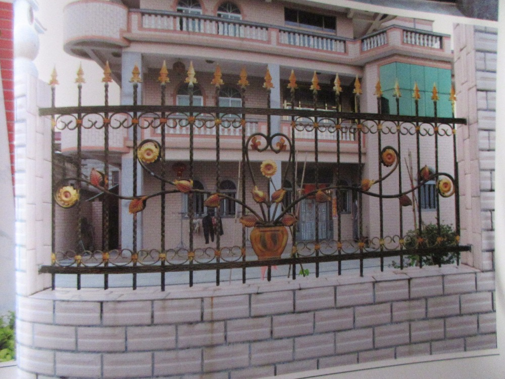 """48"""" High RPF100 Residential Wrought Iron Fence dcorative wrought iron fence wrought iron fencing near me Fencing  Trellis & Gates     - title="""