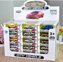 Hot 10 pçs/lote Brinquedos Para Crianças Nova Liga Modelos de Carros de Liga Carros Modelo Modelo de Construção Brinquedos Booth Venda Quente Liga Carros