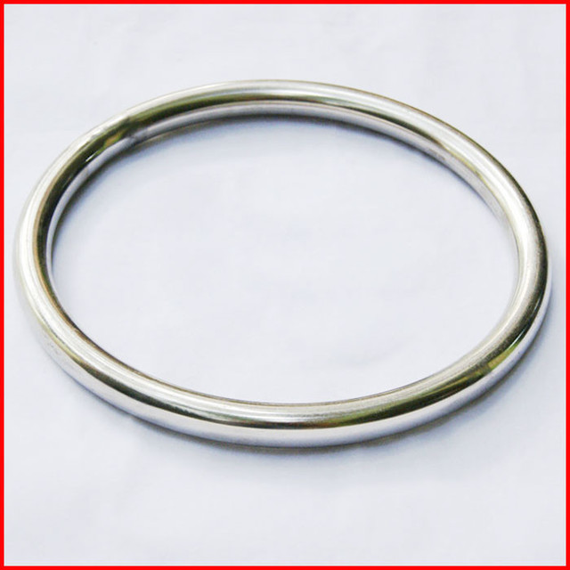 Free Shipping 10 pcs / lot Smooth Durable Wing Chun / Martial Art Sticky Hand Stainless Steel Rattan Ring (MTE004) !!