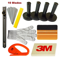 6in1 PRO Vinyl Flim Tint Install Tools Kit Car Decals Stickers Wrap Application Windshield Film Kit