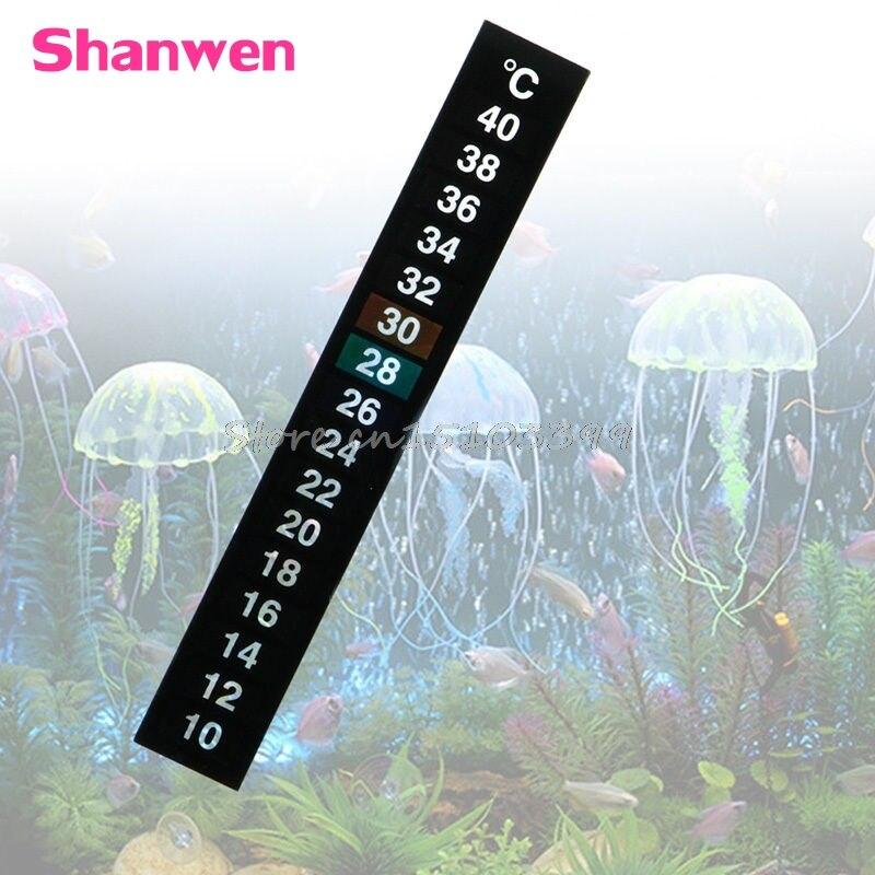 1 Pc Aquarium Aquarium Digital Thermometer Temperatur Aufkleber Stick-auf G08 Drop Schiff
